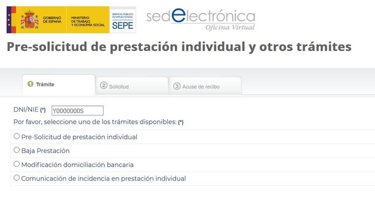 Nuevo Formulario Para Solicitar Prestaciones Por Desempleo Y Otros Trámites Sepe Andalucia Orienta