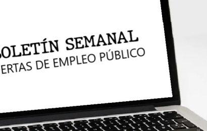 Empleo Público: Boletín de Ofertas del 5 al 11 de mayo de 2021