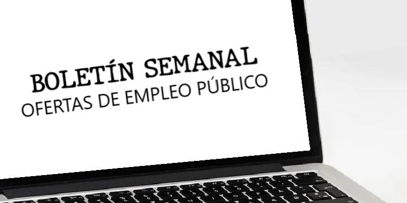 Empleo Público: Boletín de Ofertas del 28 de abril al 4 de mayo de 2021