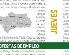 Ofertas de empleo: jueves, 15 de abril de 2021
