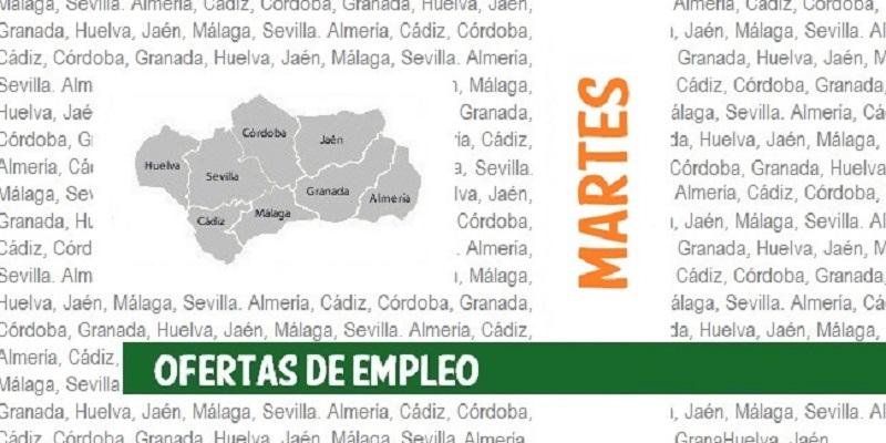 Ofertas de empleo SAE: martes, 15 de junio de 2021