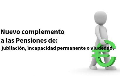 Nuevo complemento de las pensiones: 400 euros por hijo o hija
