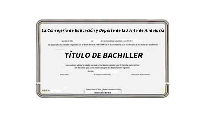Pruebas para obtener el título de Bachiller, para personas mayores de 20 años