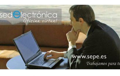 ¿Cuáles son los servicios disponibles en la sede electrónica del SEPE?
