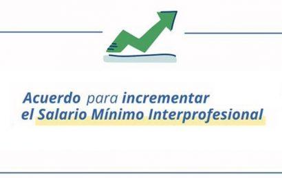 El Salario Mínimo Interprofesional aumenta en 15 euros